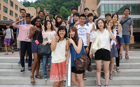 Why go abroad? Having fun with foreign students at DKU ISS