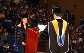 A Turning Point for 2,323 Dankook Graduates - 2015 Fall Graduation Ceremony