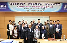 Dankook's Department of International Trade Hands Down the Nation's Excellent Trade Promotion Policy