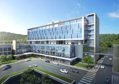 "Groundbreaking ceremony for Dankook University Hospital Cancer Center, ""250 beds to be completed by 2021"""