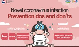 Novel coronavirus infection Prevention dos and don'ts