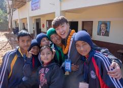 Overseas Volunteer Corps visit Nepal and Myanmar…Serving in 8 countries on 46 occasions