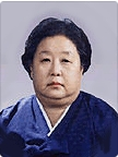 5th, 7th~13th chairperson Park, Jung-sook